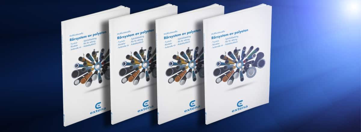 EXTENA Produktkatalog tryckrör polyeten PE100 RC