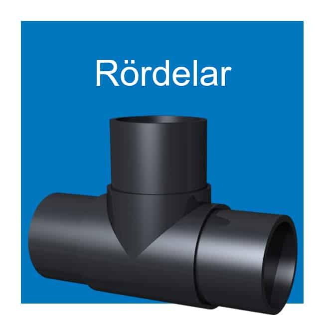 EXTENA Tryckrör polyeten PE100 RC Rördelar