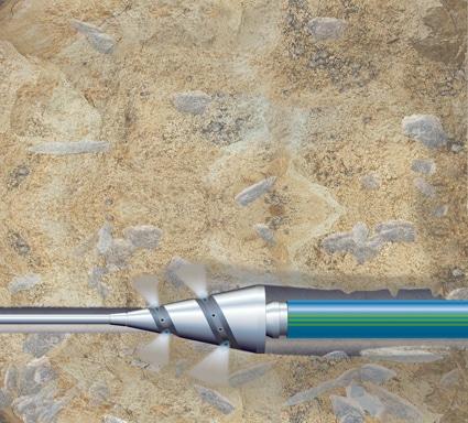 Extena Tryckrör Polyeten PE100 RC för alternativa läggningsmetoder