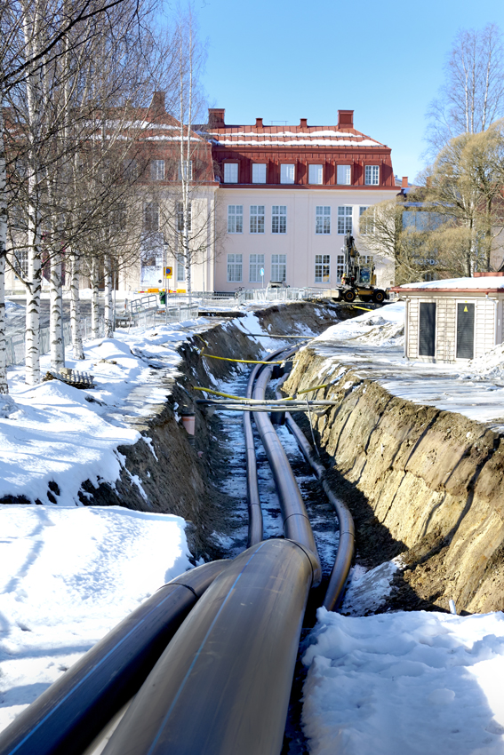 Extena Tryckrör Polyeten PE100 RC Trygg leverantör stora projekt Skellefteå