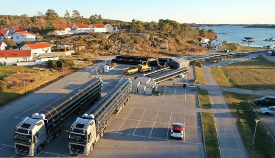 Extena Tryckrör Polyeten PE100 RC Trygg leverantör stora projekt Sjöledning