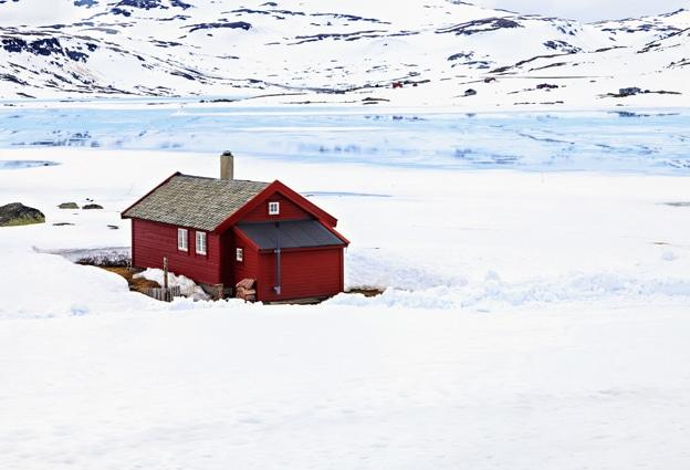 Extena Polarrör isolerat och frysskyddat rör med värmekabel för vatten och avlopp Applikation fjällmiljö