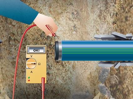 Extena SLA Barrier Pipe rördel Diffusionstätt rörsystem för förorenad mark