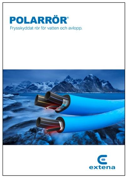 Extena Broschyr Polarrör isolerat och frysskyddat rör med värmekabel för vatten och avlopp