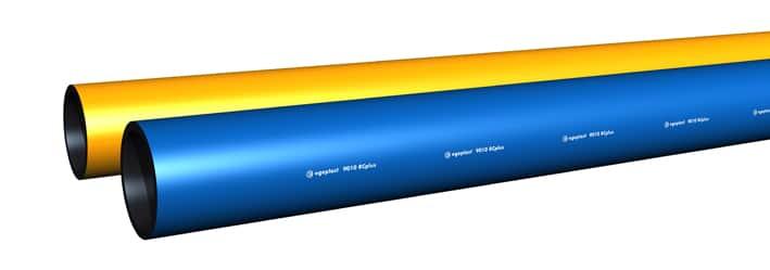 Extena Tryckrör Polyeten PE100 RC Rör med 10% färgat ytterskikt för bedömning av skador