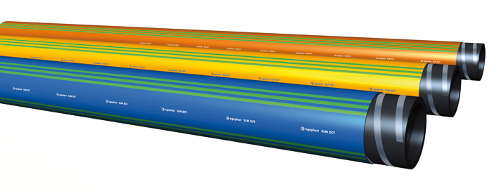 Extena SLM DCT Mantlat rör med funktionskontroll för säker läggning