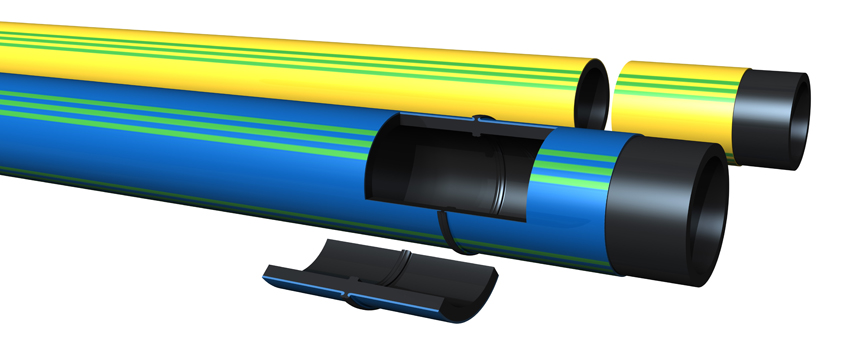 Extena SLM 3.0 Mantlat rör Polyeten PE100 RC Rör med kappa