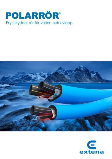 Extena Polarrör Isolerat och frysskyddat rör med värmekabel